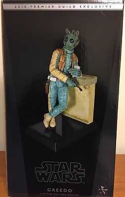 Gentle Giant Star Wars Greedo Statue 1/6 Scale 2010 PGM Exclusive Limited to 400