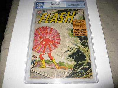 The Flash #110 1959  Pgx  5.5 1St Appearance Of Kid Flash & Weather Wizard