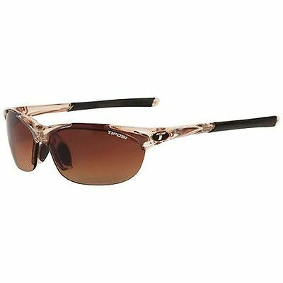 Tifosi Wisp Interchangeable Lens Sunglasses Crystal Brown