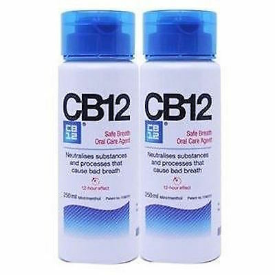 CB12 Safe Breath Oral Care Agent Two x  250ml