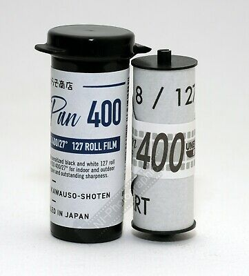 Rerapan 400 Black & White 400asa 127 Roll Film New UK Stock Free Postage