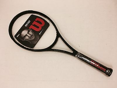 2017 Wilson Pro Staff 97LS Black Tennis Racquet - Unstrung - Grip 4 1/4 NEW