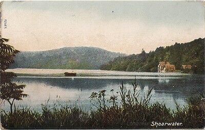 Rare Old Postcard - Shearwater - Longleat - Warminster - Wiltshire C.1910