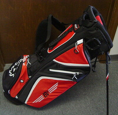 Titleist Vokey Limited Edition Stand Carry Golf Bag Black Red White NEW!