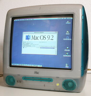 APPLE MACINTOSH iMAC G3. Cult Vintage Computer. WORKING!