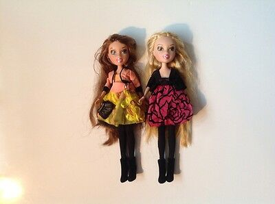 RARE set of 2 Bratz PORCELAIN DOLLS