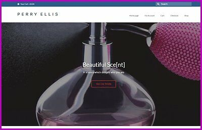 Fully Stocked Dropshipping PERFUME SCENTS Website High Profit Margin GET IT FREE