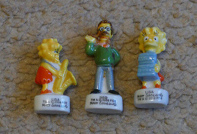 The Simpsons Miniature French Porcelain Figures ('Feves')