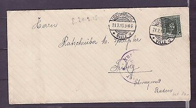 A594 Luxembourg Cover with special Trier stamp