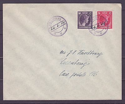 A595 Luxembourg Cover Caoutchouc Used Hosingen