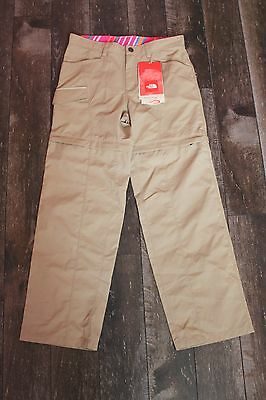 New The North Face Girl's Zip Off Trousers Size L