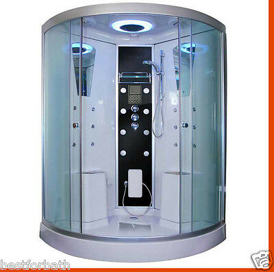 Big Two Person Steam Shower,thermostatic .Bluetooth .Aromatherapy.USA Warranty.