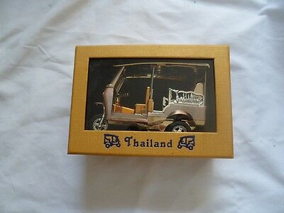 Thailand Taxi Tuk Tuk New Gold & Silver Bronze Color Free Shipping From USA