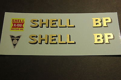 Crescent 1276 Scammell Scarab Shell Bp Tanker Transfers/decals