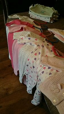 Baby girls clothes jobs lot 3-6 months