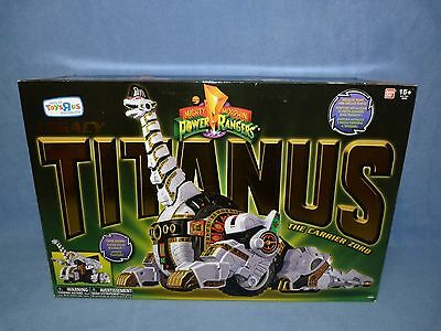 Mighty Morphin Power Rangers Legacy Titanus BOXED VERY RARE MINT IN BOX
