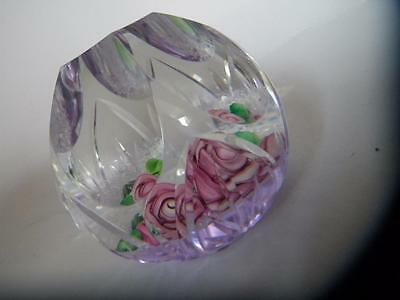 Stunning Bargain Limited Edition Celebration Rose Caithness Paperweight 42/80