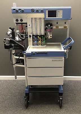 Drager Narkomed GS Anesthesia Machine with Vaporizer