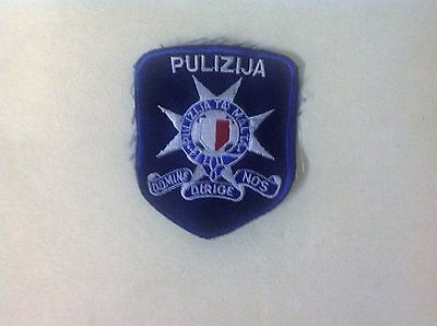 Police Patch From The Island Of Malta