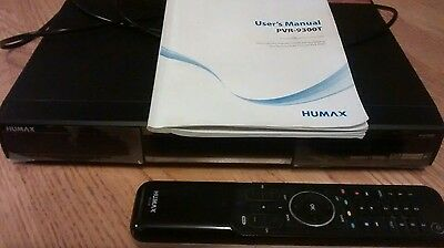 Humax PVR-9300T Digital Video Recorder, Freeview