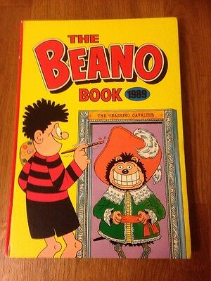 The Beano Book 1989 Vintage Childrens Comic Annual