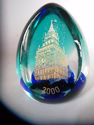 Stunning Bargain Limited Edition  Big Ben Caithness Paperweight 57/200