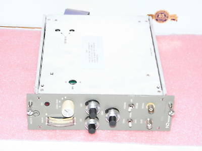 ND Nuclear Data ND570 ADC NIM module with cable +6 Volt