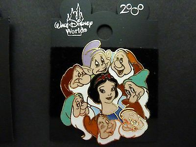 Walt Disney Collector Pin Badge - Snow White and 7 Dwarves
