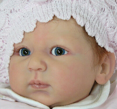New Reborn Baby Doll Kit Rosalie By Linde Scherer @New Light & Soft Vinyl@ 22""