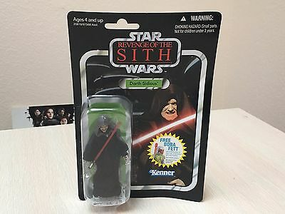 Star Wars Revenge of the Sith DARTH SIDIOUS Vintage Collection VC 12 Kenner Red