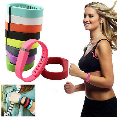 10 PCS Small/Large Replacement Wrist Band Wristband for Fitbit Flex w/ Clasps