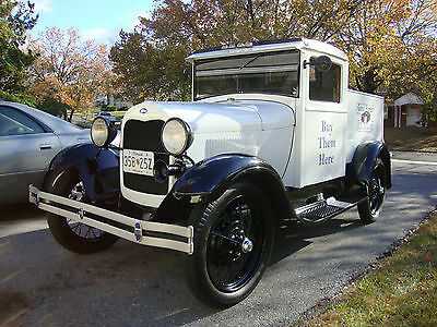 1930 Ford Model A  1930 Ford Model A Ice Cream Truck