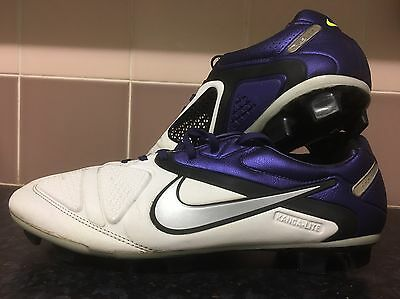 nike ctr360 maestri Elite Pro Football Boots Men's Uk8.5 Carbon White Kanga Lite