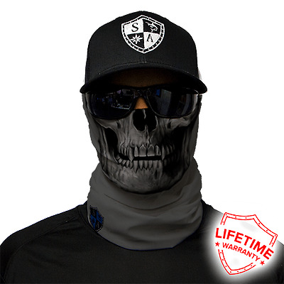 Tactical grey Skull Faceshield von SA Company