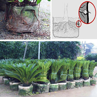 Garden Fabric Pots Plant Pouch Root Round Bags Seedling Grow Aeration Container