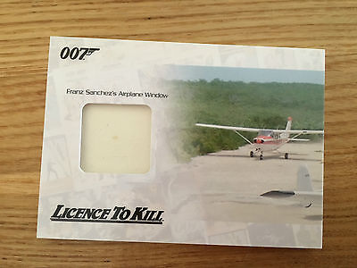 James Bond Archives 2014 Airplane Window Relic Card 137/400 JBR30