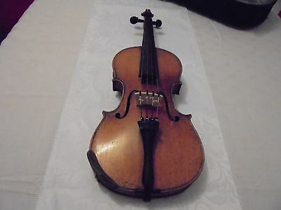 Antique German Violin,@ 100 - 150 Years Old, With A Dresden Label