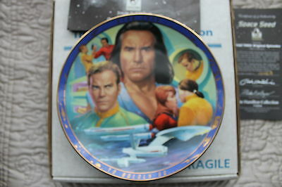 Star Trek Plates Original Episodes From Hamiltion Plates  Space Seed