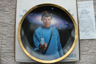 STAR TREK 25TH ANNIVERSARY COMMEMORATIVE COLLECTION    McCOY