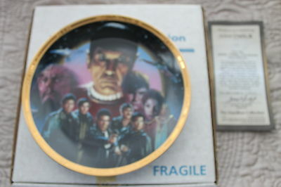Star Trek Plates The Movies The Search For Spock  From Hamiltion Collection
