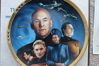 Star Trek The  Next Generations The Episodes  Plates Yesterday's Enterprise