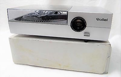 Vintage Rollei P37E Carousel Slide Projector Made In Germany Works!