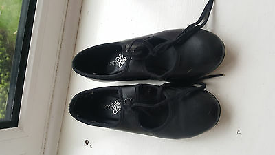 TAPPERS POINTERS Children Tap DANCE  Shoes SIZE 13  UK BLACK