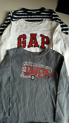Good condition boys Gap tops x3 age 3 years
