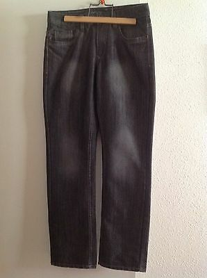 Jean Homme Neuf Angelo Litrico Gris Taille W 32 L32