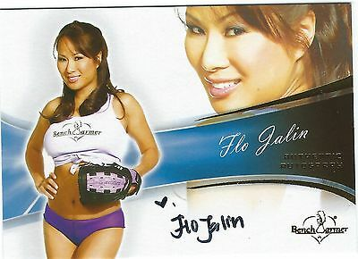 Bench Warmers Flo Jalin Authentic Hand Signed Autograph Card 2013 Good Condition