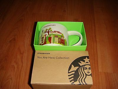 NWT Starbucks FRANKFURT GERMANY You Are Here YAH Collector Mug