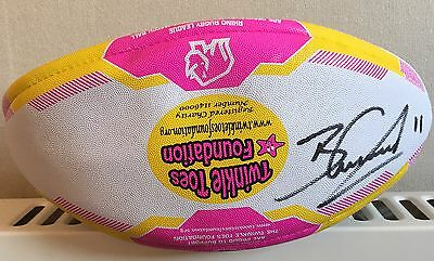 Ben Currie's One Off Signed Twinkle Toes Foundation Ball