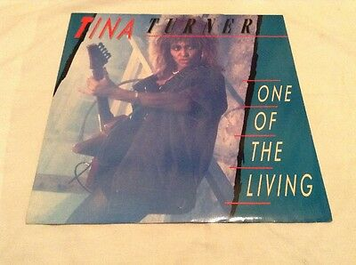 """Tina Turner-One Of The Living 12"""" Single.1985 Capitol 12CL376.Mad Max Soundtrack"""