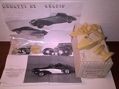 Ford Mustang 289/BOS 12h Sebring '66 Foyt 1/43 Kit montaggio RARE Limited SMTS